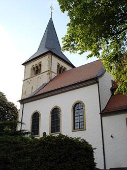 """Katholische Kirche \""""Heilige Dreifaltigkeit\"""" in Stetten"""