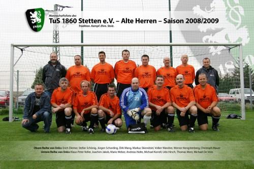 TuS AH in der Saison 2008/2009