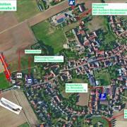 Lageplan 42. Stetten-Turnier